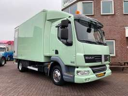 closed box truck DAF LF45-180 SLEEPING CABIN IN TOP CONDITION!!!!!!!! 2011
