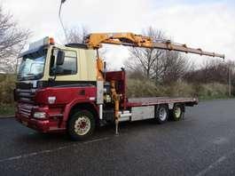 crane truck DAF 85 CF 360 EURO 5 MANUAL 10 TYRES 2006