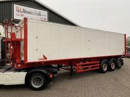 tipper semi trailer Stas S300CX 56m3 Vol alu, Liftachse, Klep/turen, TOP condition 2009