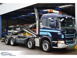 container truck Scania Scania P 420, Euro 5, 8x2, Manuel, 2015 system!, Truckcenter Apeldoorn 2009