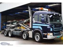 контейнеровоз Scania Scania P 420, Euro 5, 8x2, Manuel, 2015 system!, Truckcenter Apeldoorn 2009