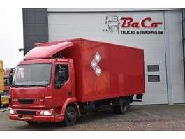 closed box truck DAF LF 45 170 - MANUAL - EURO 3 - ONLY 149 TKM + ELEVATOR - 2004