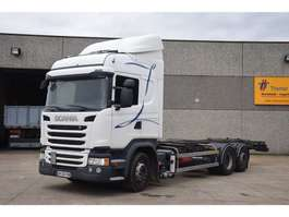 chassis cab truck Scania G 450  6X2 2014