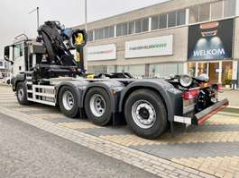 container truck MAN TGS 35.430 8x4-4 BL met kraan en haak 2020