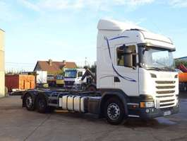 chassis cab truck Scania G 490 6X2 2015