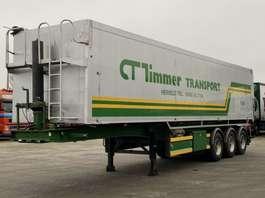 tipper semi trailer Bulthuis KIPPER ALUMINIUM TATA 03 ELEC. KIPPER  58m3 BPW 1997