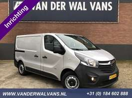 closed lcv Opel Vivaro 1.6CDTI 125pk L1H1 *Inrichting* Airco, navigatie, trekhaak, cruis... 2016