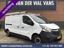 closed lcv Opel Vivaro 1.6CDTI L2H1 *Inrichting* Airco, imperiaal, cruisecontrol, trekhaak 2014