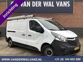 закрытый ЛКТ Opel Vivaro 1.6CDTI L2H1 *Inrichting* Airco, imperiaal, cruisecontrol, trekhaak 2014
