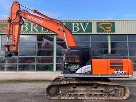crawler excavator Hitachi ZX 250LC-6 2016