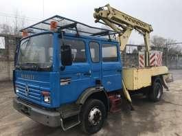 LKW mit montierter hydraulischer Hebebühne Renault M140 **6CYL-NACELLE** 1991