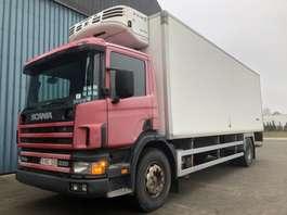 camión frigorífico Scania 94D  220     EURO 2  Manual Pump / Pompe manuelle 2001
