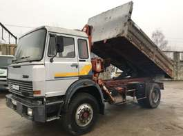 автосамосвал Iveco 190-20 **TIPPER-CRANE-FRENCH TRUCK** 1980