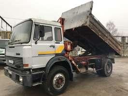 camión de volquete Iveco 190-20 **TIPPER-CRANE-FRENCH TRUCK** 1980