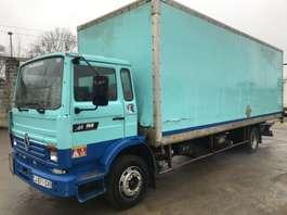 camión de caja cerrada Renault M160 **6 CYL.-LAMES-STEEL** 1991