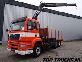 crane truck MAN TGA 26.340 6x4 - Hiab 14 TM Kraan, Crane, Kran - Remote control! 2005