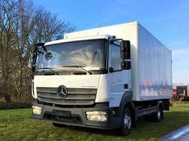 closed box truck Mercedes Benz Atego 818 EURO6   €31.500 2014