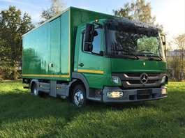 camión de caja cerrada Mercedes Benz Atego €16750 ex btw koffer 5m10!!!! 2011