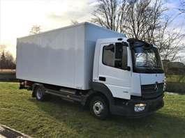 camión de caja cerrada Mercedes Benz Atego 818 Euro6  2014 Nieuwstaat!! 2014