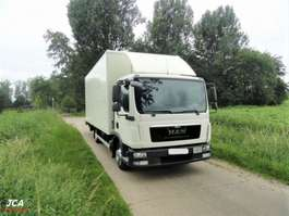 camión de caja cerrada MAN TGL 8.180 EURO 6  BJ 2014!! €29.900 2014
