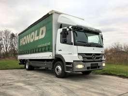 closed box truck Mercedes Benz Atego 1224 zeer verzorgd! 2012