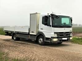 platform truck Mercedes Benz Atego 7500kg €23950,- open laadbak met gereedschapkoffer!! 2012