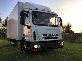 closed box truck Iveco eurocargo 75e18 euro5 EEV €16.900 2012