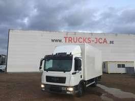 camión de caja cerrada MAN TGL 8.180 **€21900 excl BTW** MAN KOFFER 5.20 LANG !!! 2010