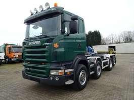 roro Traktoreinheit Scania R420 ABrollkipper GERGEN 8x4