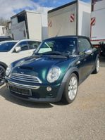 convertible car Mini CABRIO Cooper S Leder beige Original km