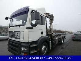 roro tractor unit MAN TGL 26.400 Abrollkipper Ladekran Atlas Eu4