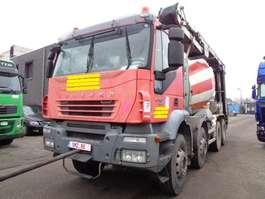 camion betoniera Iveco Trakker 410 MOTOR broken! engine KAPUT 2007