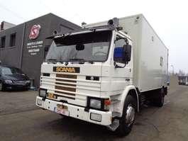 autocarro a cassone chiuso Scania 92 M mobilhome bak 1986