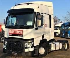 camion mega-volume Renault T460 SC 4x2 X-LOW ACC Voll-Luftgefedert 2015