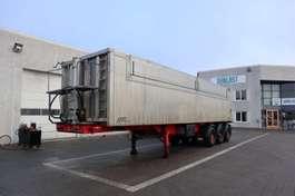 tipper semi trailer 50 m3 med nedfældbar side 2007