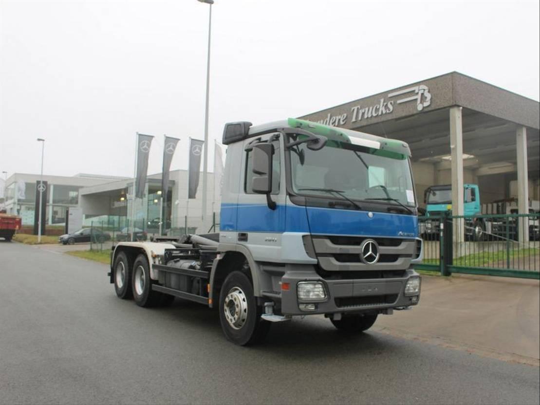 Mercedes Benz 2641 Actros 6x4 Euro 5 Containerwagen Kort