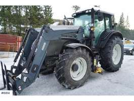 trattore agricolo Valtra T131 w / Quicke Q55, underlying blade & extra wint 2010