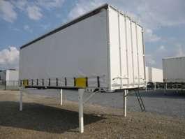 swap body trailer Krone Wechselpritsche Schiebeplane 2006