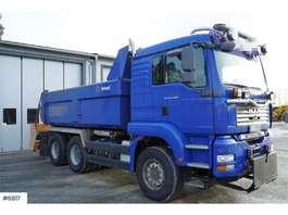 camion à benne basculante MAN TGA 26.480 6x4 w/ Istrail dumper box 2007