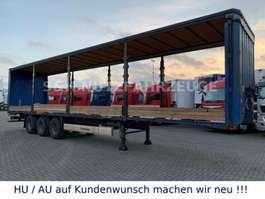 sliding curtain semi trailer Krone SAF ACHSEN Trommel Bremse Edscha Ohne Plane 2011