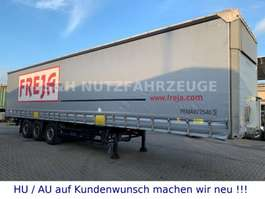 sliding curtain semi trailer Schmitz Cargobull Hydraulische Hubdach Edscha Schiebeplane XL Code 2013
