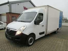 closed box lcv Opel Movano 2.3CDTI Ladebord Netto €8450,=