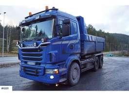 camion à benne basculante Scania R500 6x4 Snow rigged tipper truck 2011