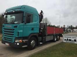 caminhão guindaste Scania G440 LB 6x2 MNB 2013