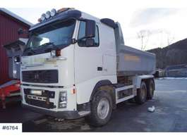 camion à benne basculante Volvo FH520 Snow rigged tipper truck 2008
