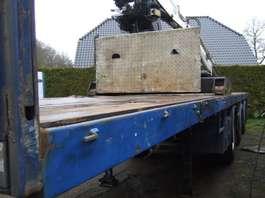 flatbed semi trailer Pacton kraanoplegger 1994