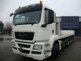 platform truck MAN tgs 35-360 8x4/4 kooiaap constuctie 2011