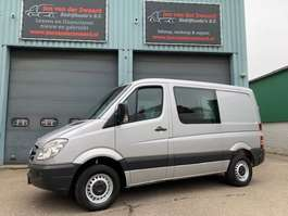 closed lcv Mercedes Benz SPRINTER  315 CDI Dubbele cabine AIRCO trekhaak Automaat 2007