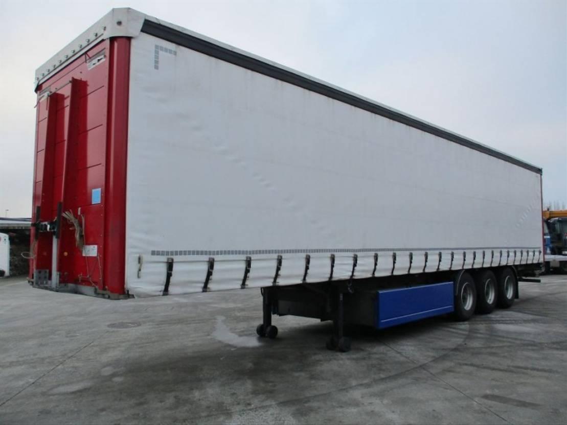 Systeme De Rideau Coulissant div. a&d, system trailers tautliner / schiebegardinen / rideaux coulissants  | semi-remorque à rideau coulissant - trucksnl