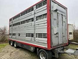 livestock trailer Pezzaioli Pezzaiolli 3 Stock ausfahrbares Dach